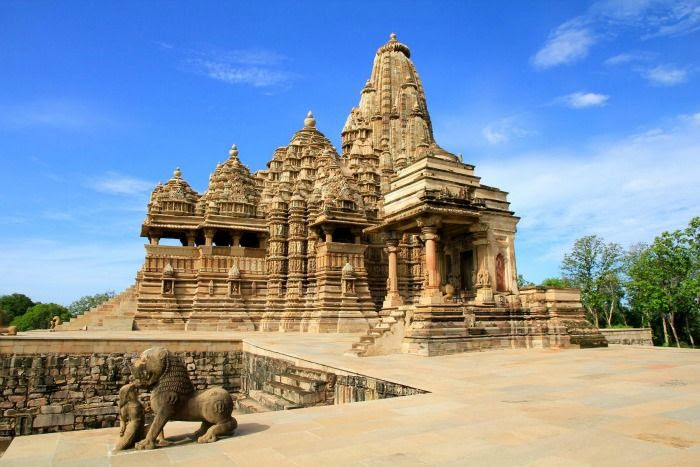 Khajuraho temple - the World Heritage listed temples