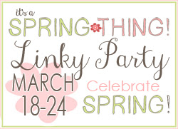 Spring Thing Linky Party Button