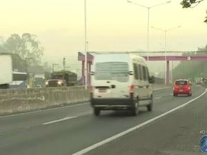 Trânsito está normalizado na manhã desta quinta-feira (14) (Foto: Reprodução / TV Bahia)