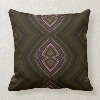 Chocolate Diamonds Throw Pillow