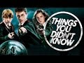 7 Things You (Probably) Didn't Know About Harry Potter