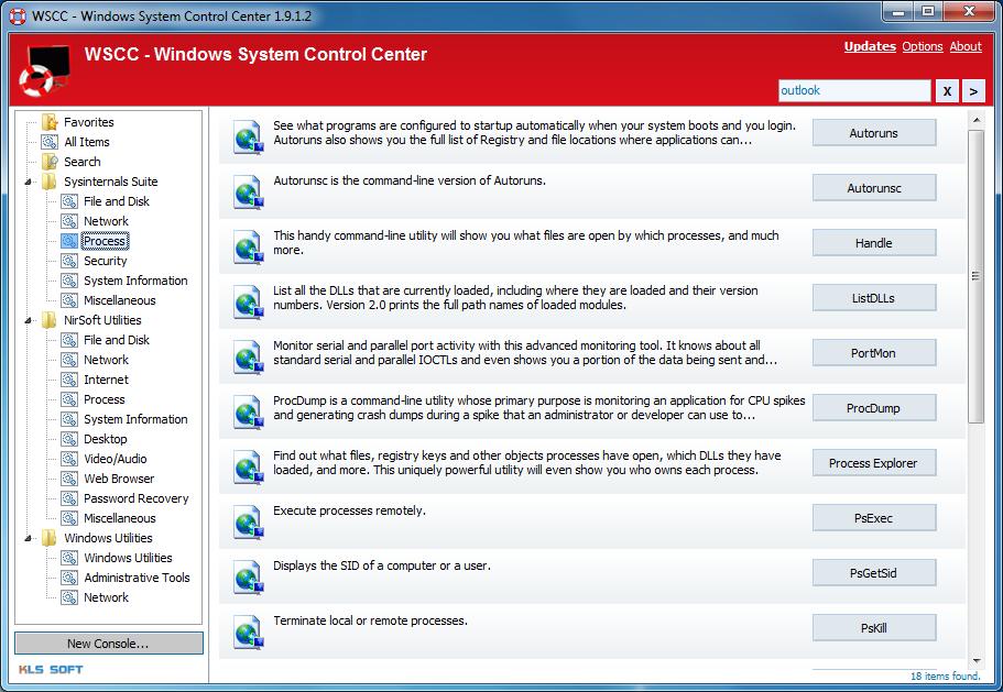 برنامج WSCC 2.1.1.0 لادارة والتحكم فى جميع العمليات المتعلقة بالنظام