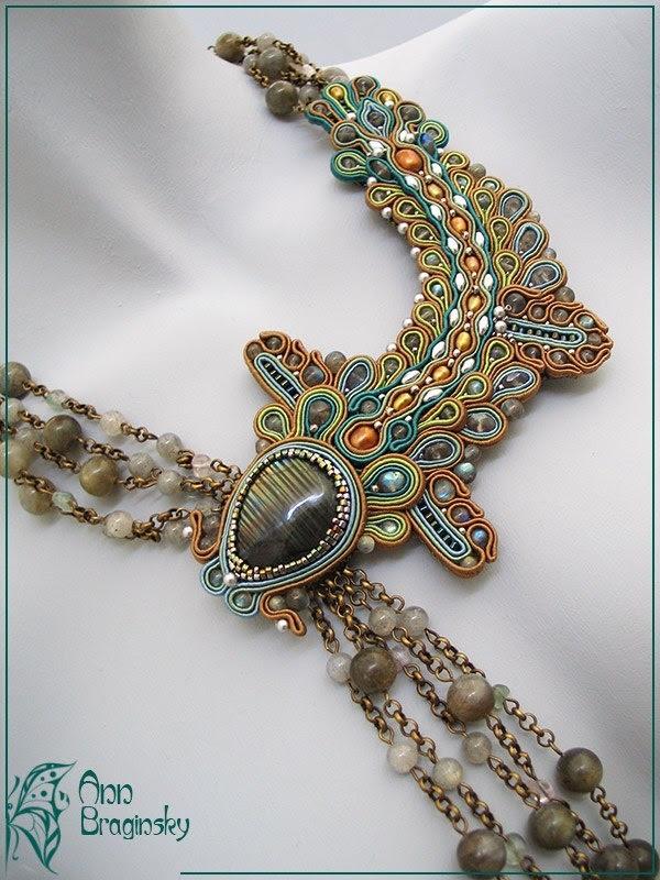 "Ann Braginsky, Ожерелье ""Мутные воды"""