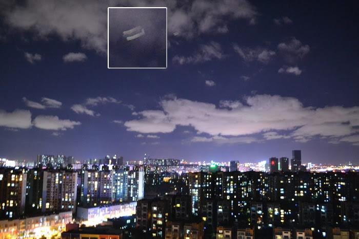 Imagen 4: Objeto aéreo anómalo fotografiado en Kunming, China. 16 de junio (2015). Crédito: MUFON
