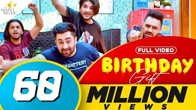 Birthday Gift Lyrics Sharry Mann | Mistabaaz | Kaptaan | Gold Media |Latest Punjabi Songs 2020