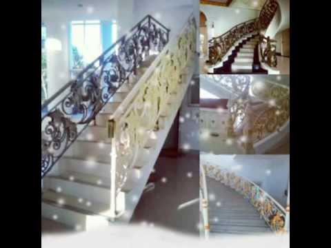 Railing Tangga Balkon Besi tempa