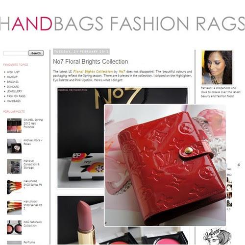 handbags and fashion rags