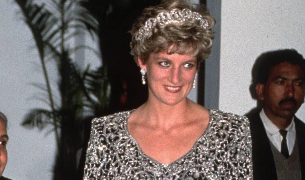 Lady Di, en la India en 1992.
