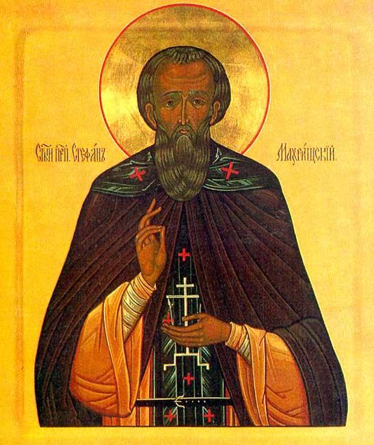 IMG ST. STEPHEN, the Abbot of Makhrishche, Vologda