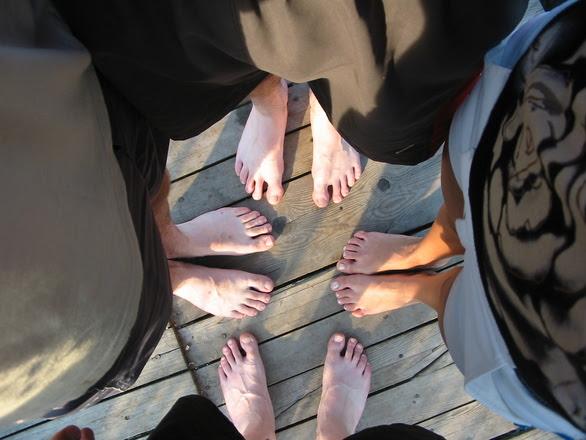 stopy razem