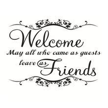 Online Get Cheap Welcome Quotes Wall Decals Aliexpresscom