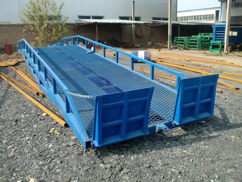 Miniescavatore rampe mobili per carico container for Rampe di carico per container
