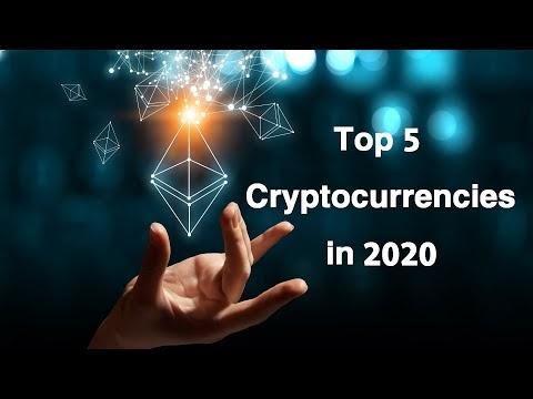 Top 5 cryptocurrencies in 2020