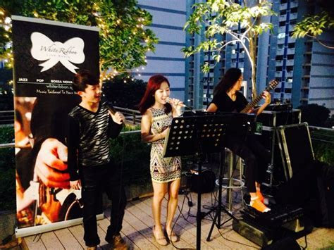 White Ribbon Live Music   Singapore Wedding Live Music