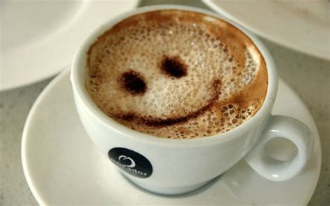 Coffee with a smile wallpapers and images   wallpapers