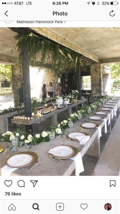 Matheson Hammock Park Shelter Decorated   Marielis wedding