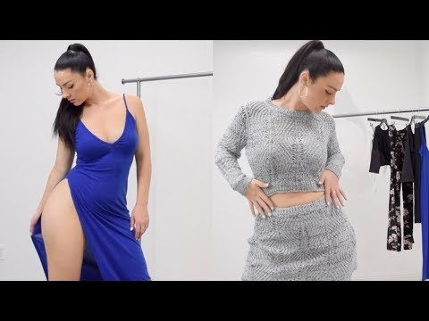 fbbaec9a31 .  Turn Casual Into Sexy Try-On Haul