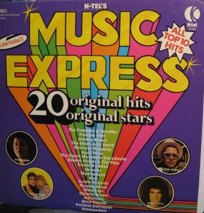 The Goat: K-Tel Music Express 1975 A Day To Remember Old Record Album Cover