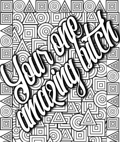 Adult Curse Word Coloring Pages - Workberdubeat Coloring
