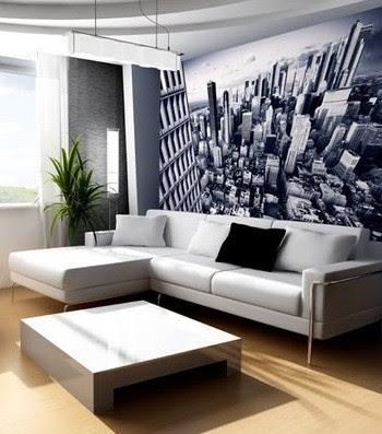 Wallpaper Wall Decor Ideas for Living Room