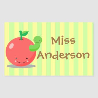 Apple Name Tag sticker