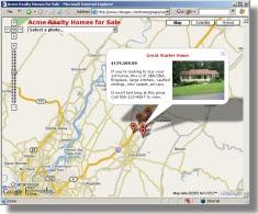 Google Map with photo geocoded by RoboGeo