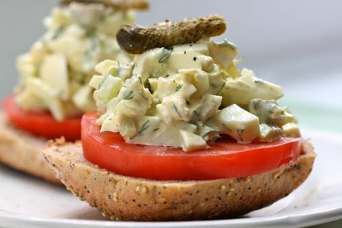 Lemon Mustard Dill Egg Salad