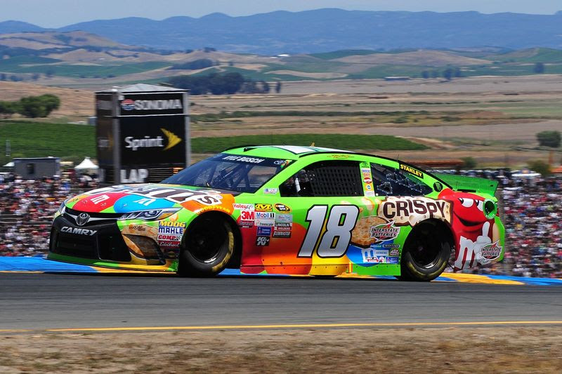 Kyle Busch Returns to Site of Historic Sonoma #NASCAR Victory