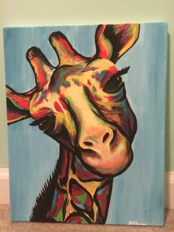 Spring Canvas Painting Ideas For Kids Healthy Care
