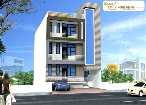 elevation design small house front designs  single