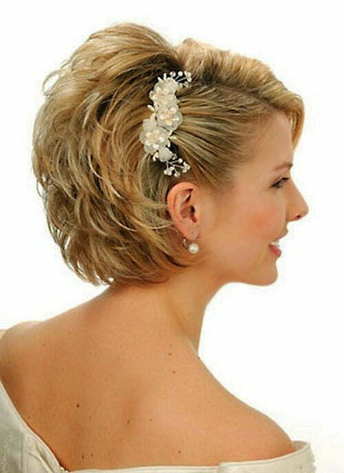 Wedding Hairstyles Updos For Short Hair Best Wedding Hairs