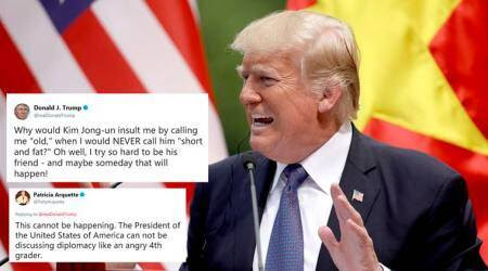 Trump unhappy that Kim Jong-un called him 'old' and Twitterati lambast him for his rant