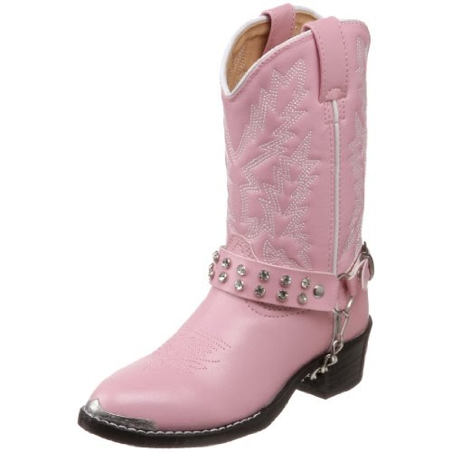 Durango Lil Pink N Chrome Bt568 Western Boot Toddler