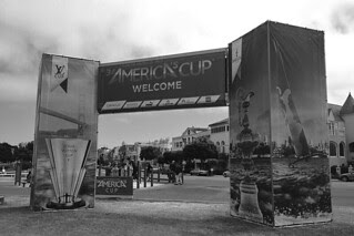 America's Cup - Welcome Sign