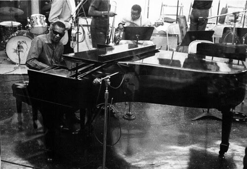 Ray Charles - During Gig in the Studio