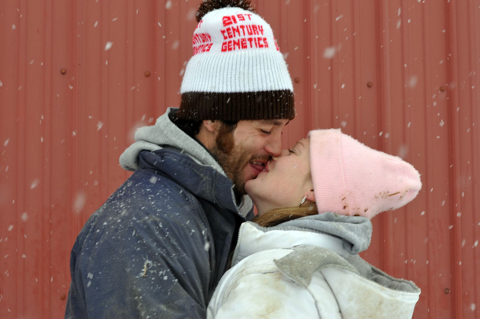 1.13.10 Kissing in the snow. What could be better?