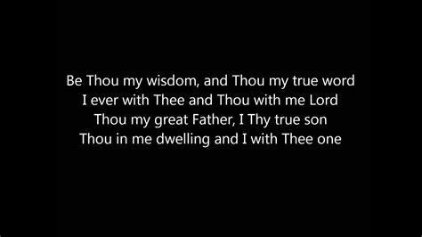 Be Thou My Vision: Michael Card (Lyrics) Chords   Chordify