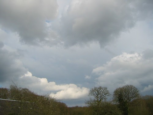 skies over Normandy