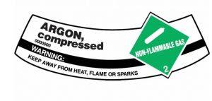 Argon Gas Inert Gas