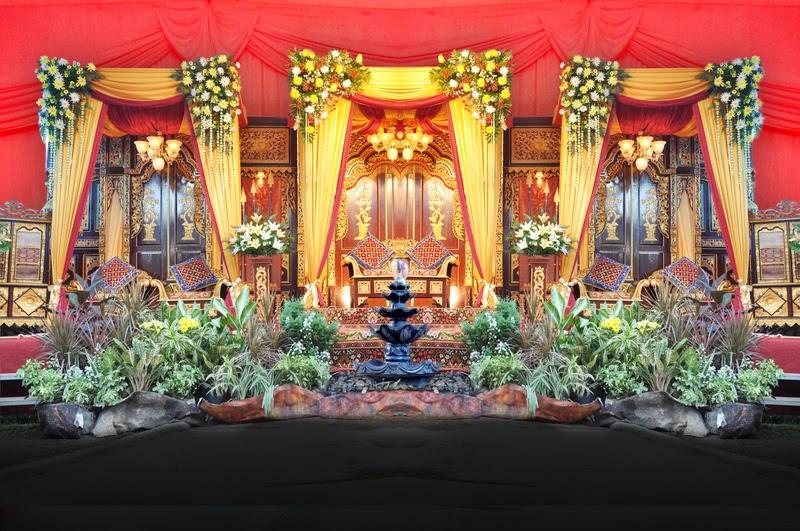 dekorasi pelaminan