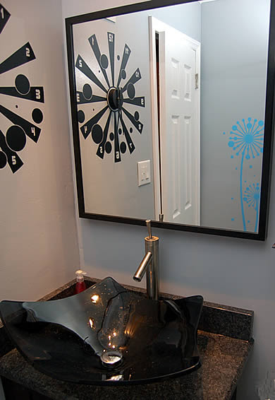 Wall decor for bathroom - by josh - Dezign Blog