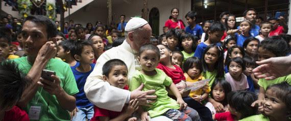 POPE MANILA CHILDREN