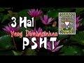 3 Hal Yang Dirahasiakan PSHT