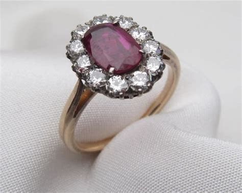 antique ruby engagement ring ideas 5   On sale near me