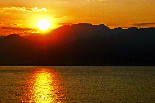 Sunrise Over Puerto Vallarta by Old Jingleballicks