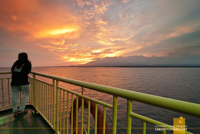 Sunset at Iligan Bay