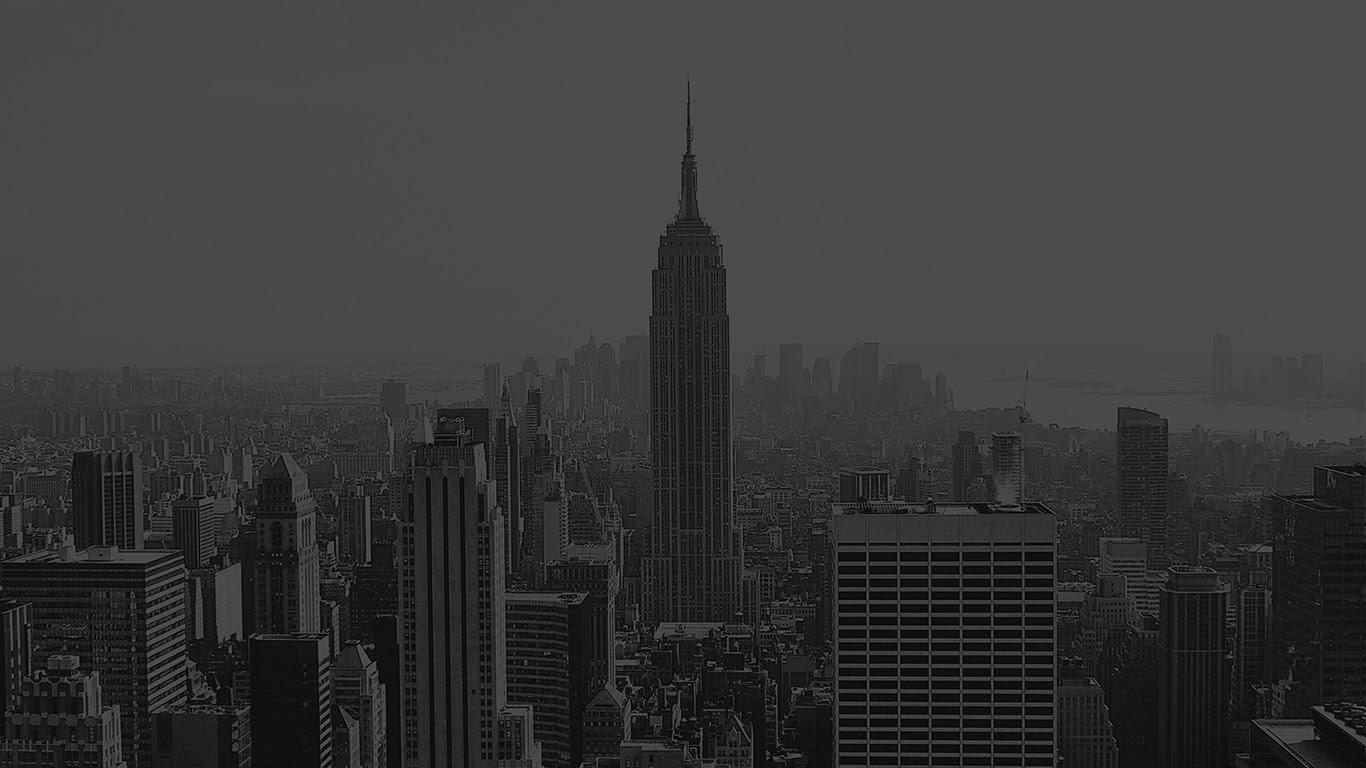 Mr79 Building Architecture City Newyork Empire Dark Bw