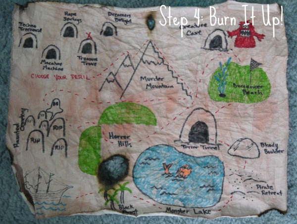 How to Create a Children's Treasure Map - Feature HMLP 43