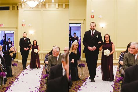 Cassie & Justin Married at The Best Western Ballroom