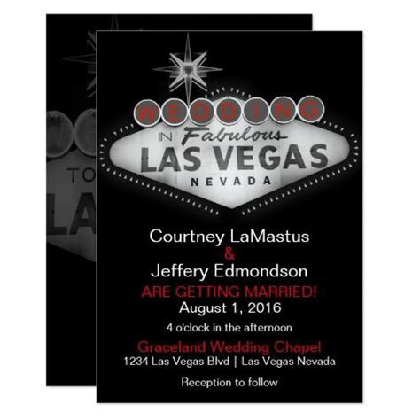277 best images about Las Vegas Wedding Invitations on